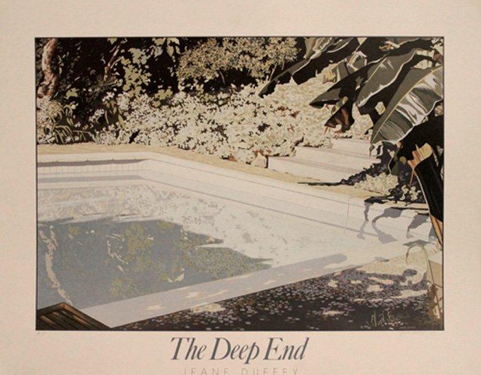 "Duffey Jeane (British 1927-2007) ""The Deep End"""