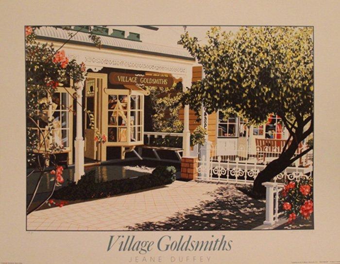 """Duffey Jeane (British 1927-2007) """"Village Goldsmiths"""""""