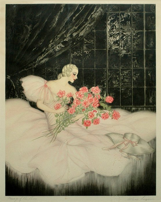 """Lamour Allene (French) """"Message of the Roses"""""""