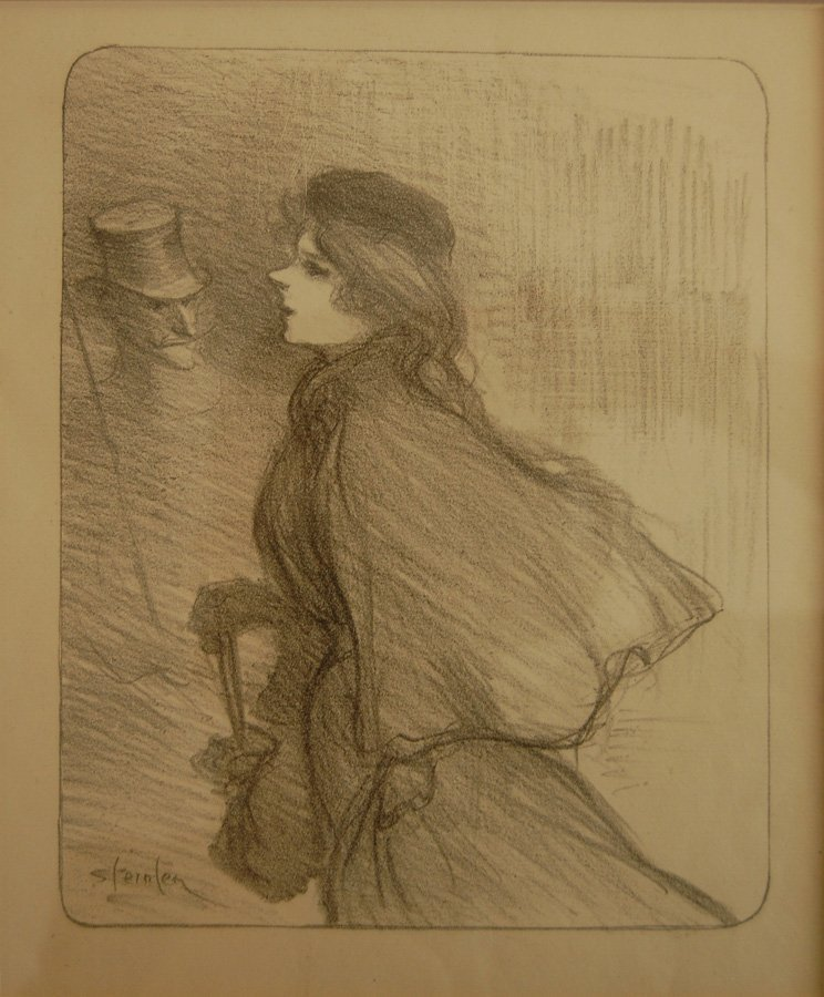 Theophile -Alexandre Steinlen (French 1859-1923)