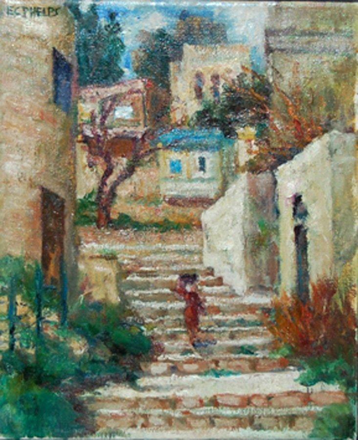 "Phelps Edith Catlin (American 1879-1961)  ""City"