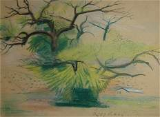 Leyden Louise Hannon (American 1898-1978) ''The Tree''