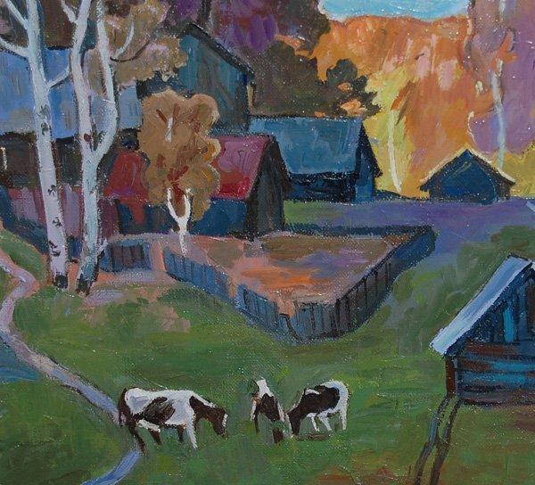 Kouptsov Eghor (Russian Born 20th c)  oil on canvas - 3