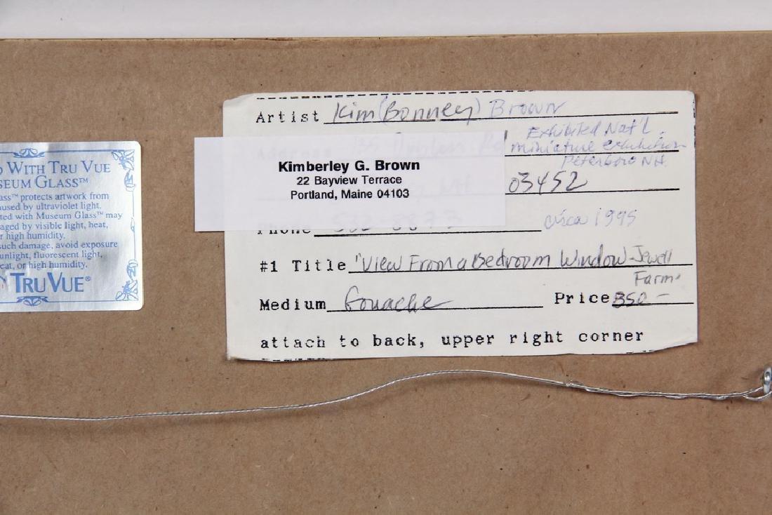 KIMBERLEY BONNEY BROWN (CONTEMPORARY, ME) - 5