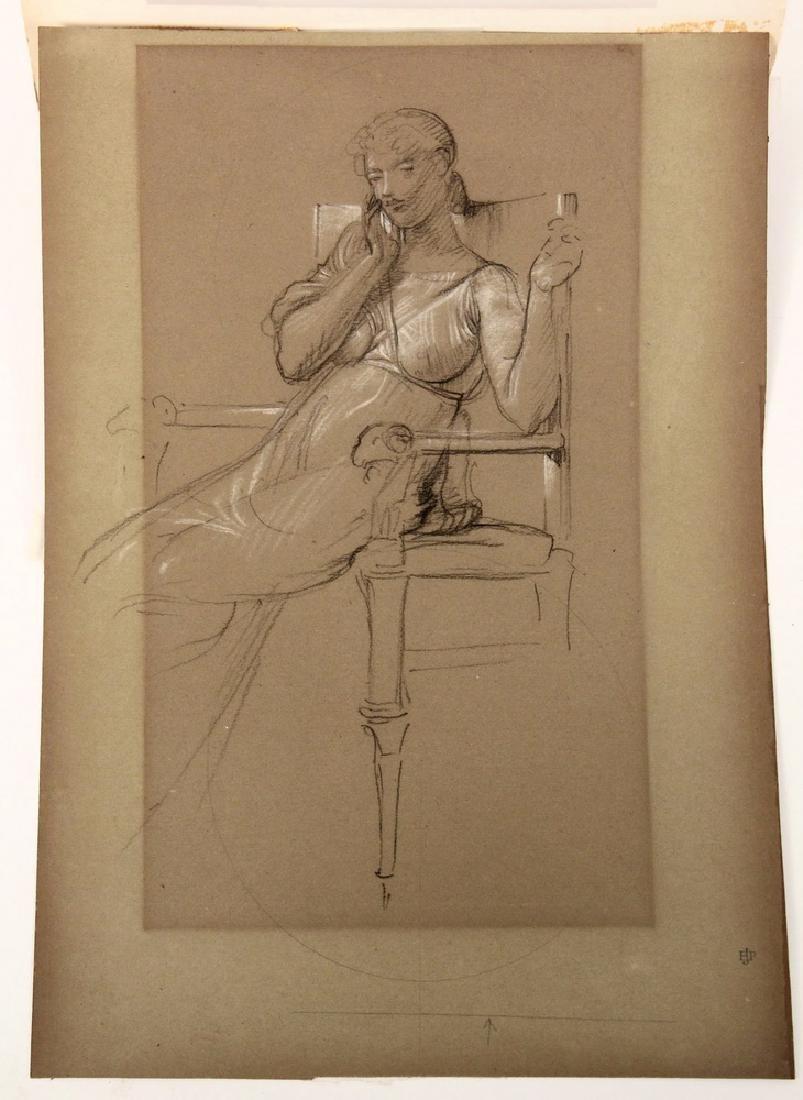 SIR EDWARD JOHN POYNTER (UK, 1836-1919) - 5
