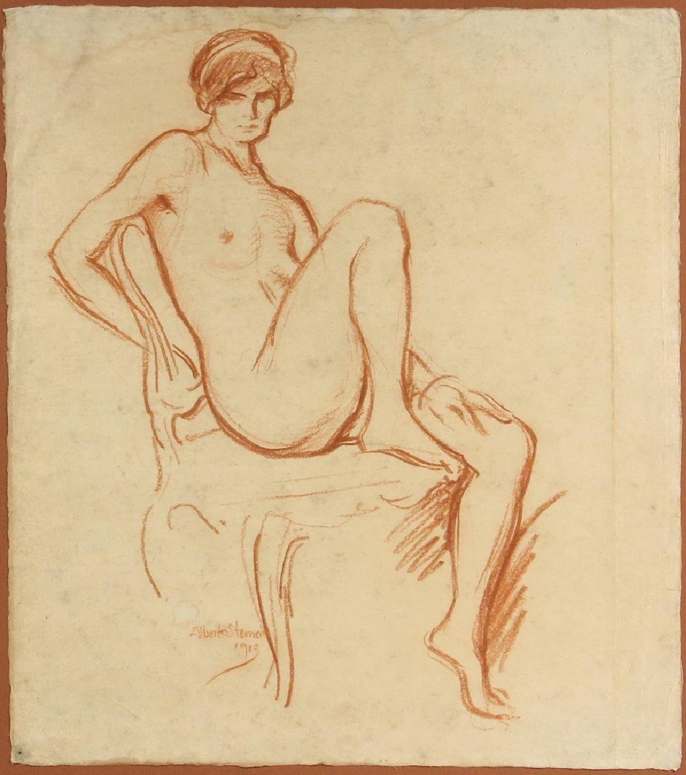 ALBERT STERNER (NY, 1863-1946) - 2
