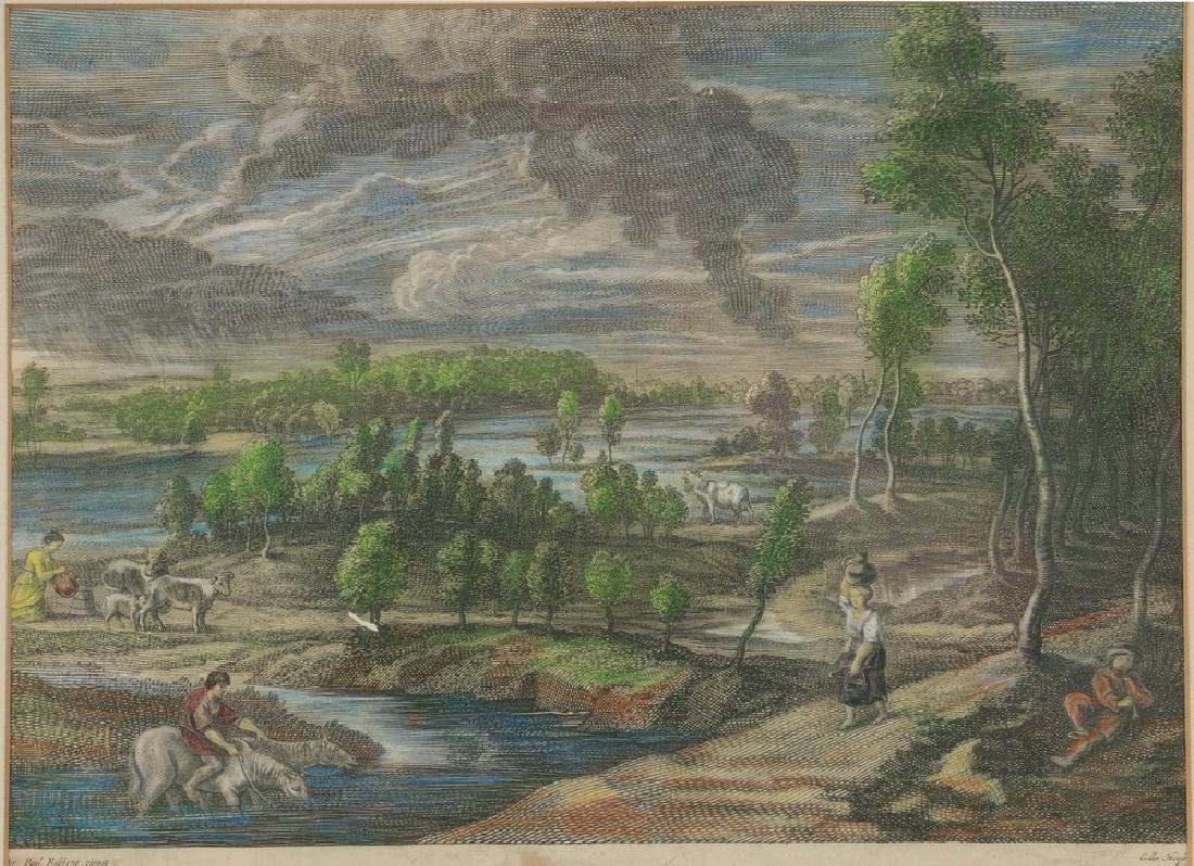 A.S. BOLSWERT (1586 - 1659) AFTER JOHN PAUL RUBENS - 2