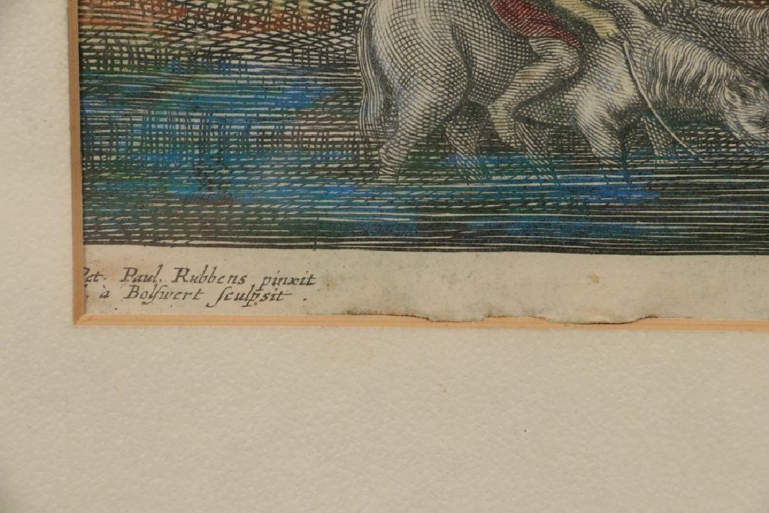 A.S. BOLSWERT (1586 - 1659) AFTER JOHN PAUL RUBENS - 3