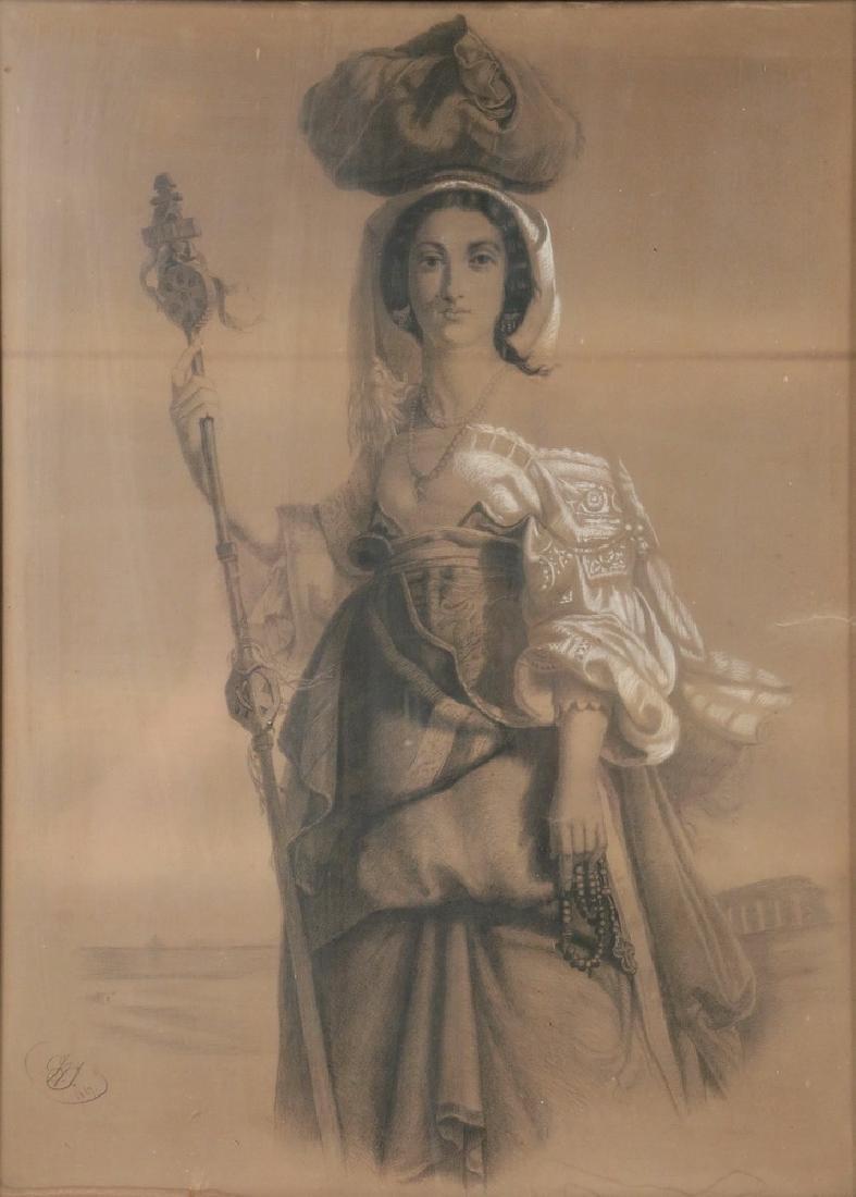 WILLIAM BORTHWICK JOHNSTONE (UK, 1804-1868) - 2