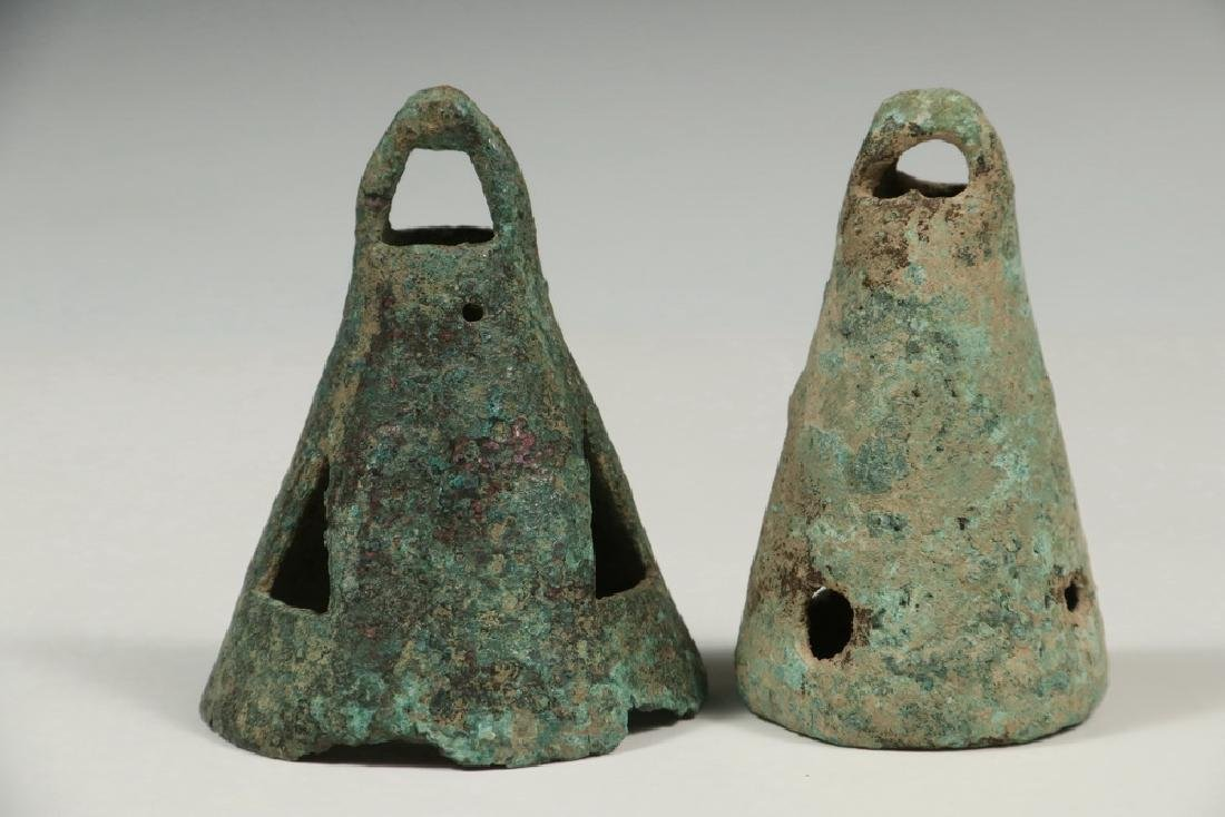 (4 PCS) EXCAVATED MIDDLE EASTERN METALWARE - 3