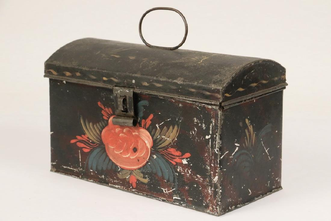 TOLE PAINTED BOX