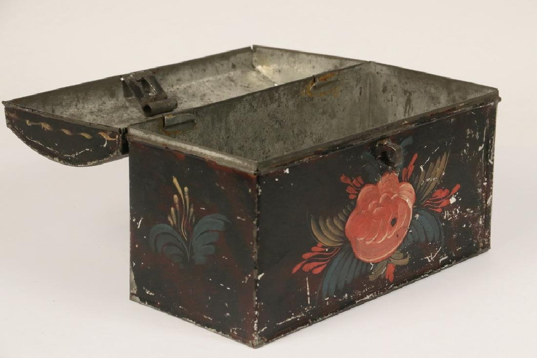 TOLE PAINTED BOX - 2