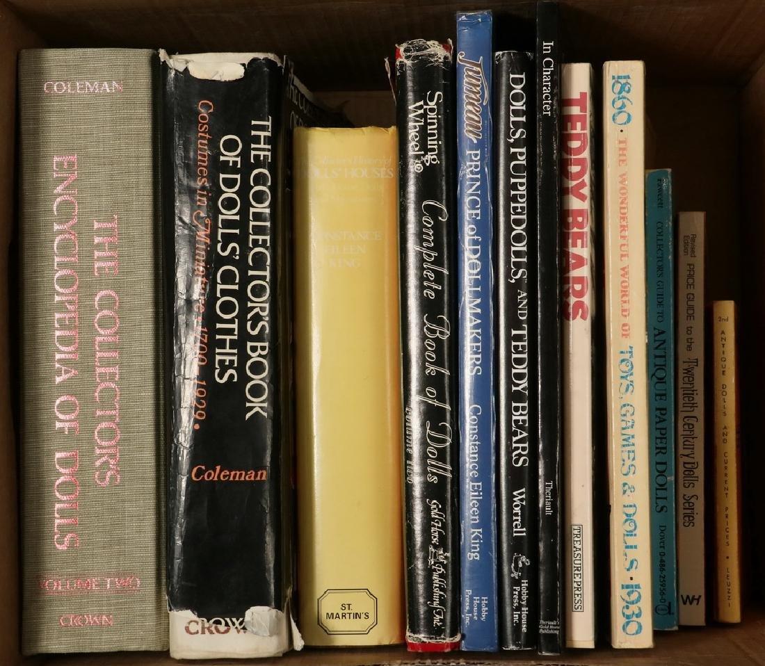 (12) BOOKS ON DOLLS