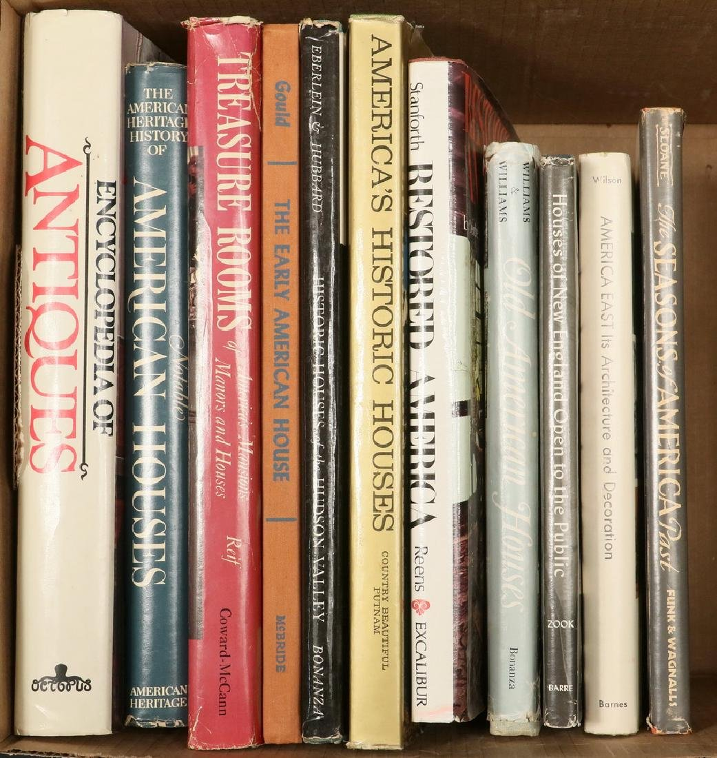 (11) BOOKS ON ANTIQUES & ARCHITECTURE