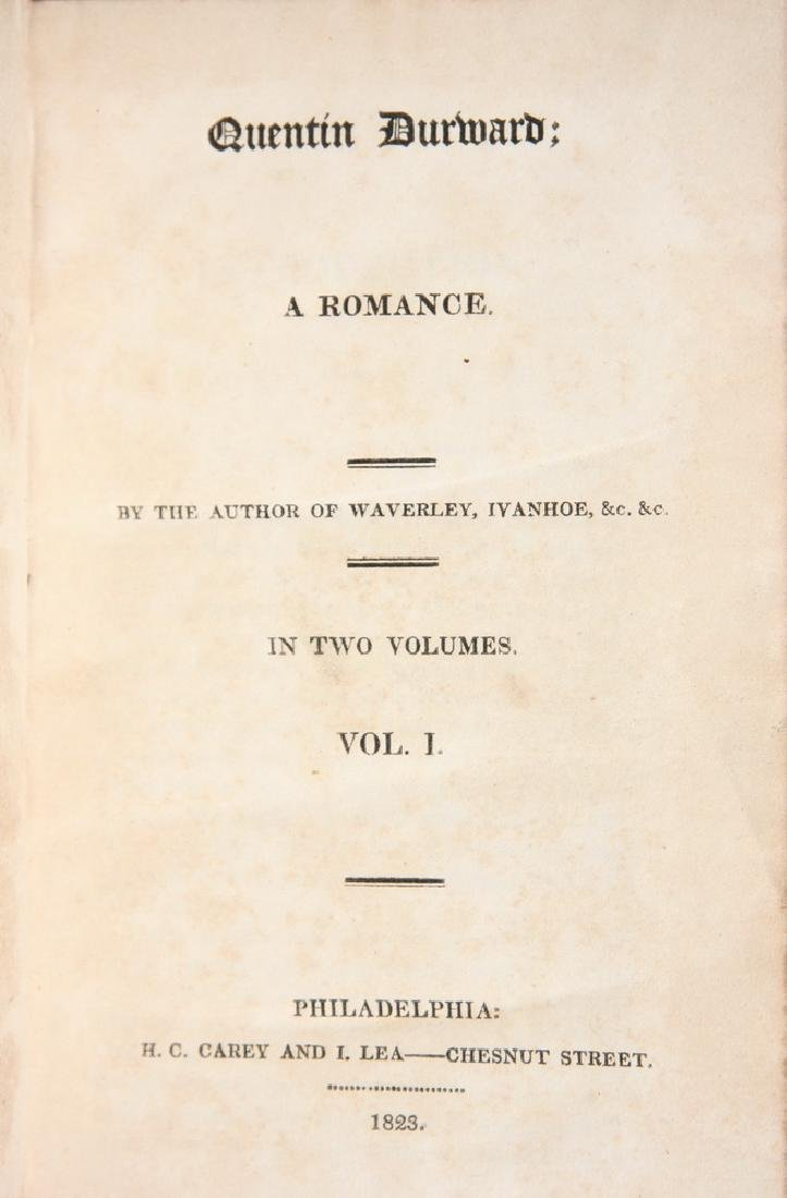 (2) VOLUME 1ST AMERICAN EDITION WALTER SCOTT - 2
