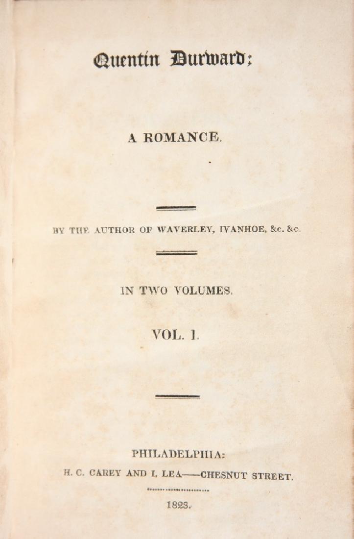 (2) VOLUME 1ST AMERICAN EDITION WALTER SCOTT - 2