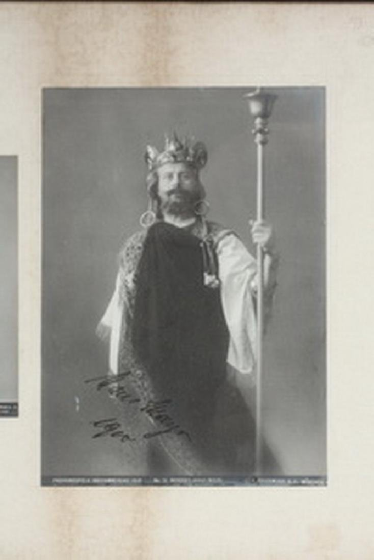 AUTOGRAPHED 1910 OBERAMMERGAU OPERA PHOTOS - 3