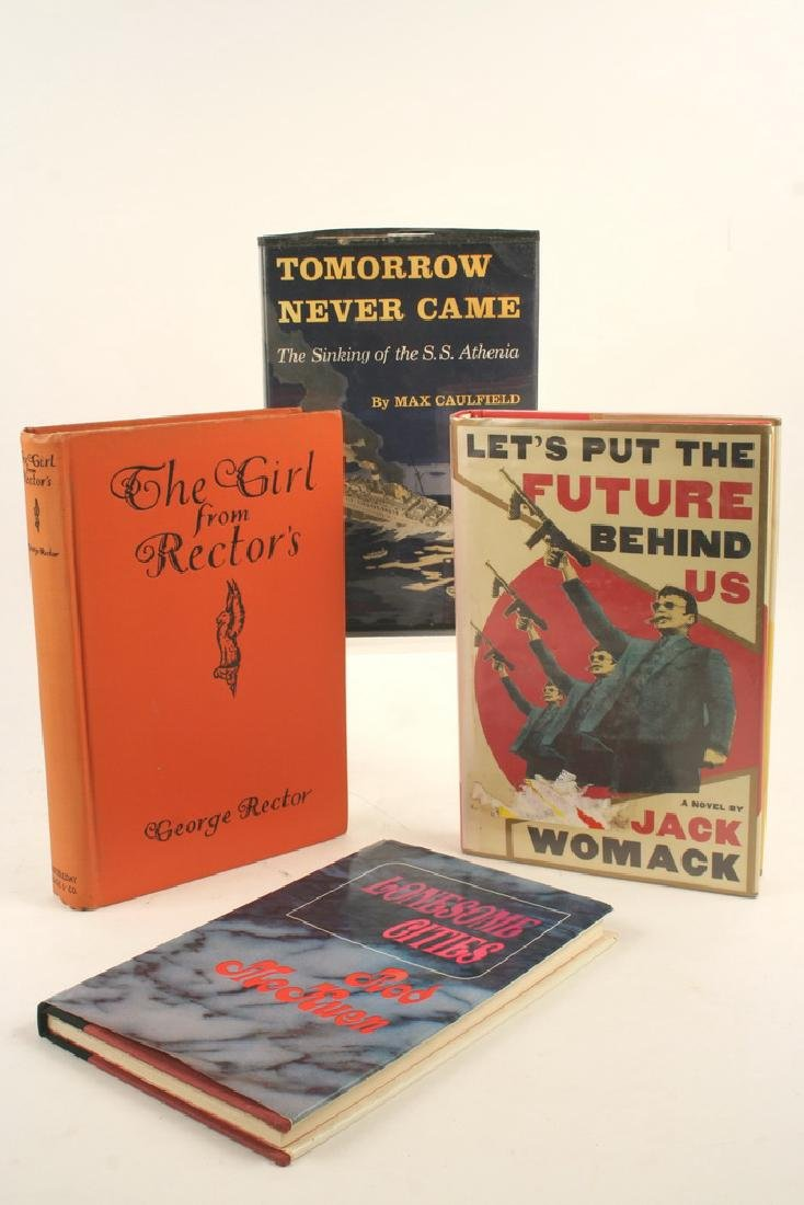 (4) FIRST EDITION BOOKS