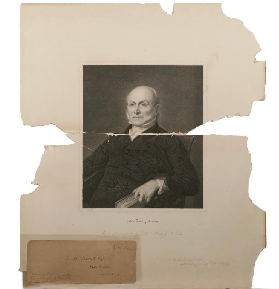 JOHN QUINCY ADAMS (1767-1848) AUTOGRAPH - 3