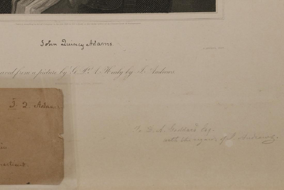 JOHN QUINCY ADAMS (1767-1848) AUTOGRAPH - 4