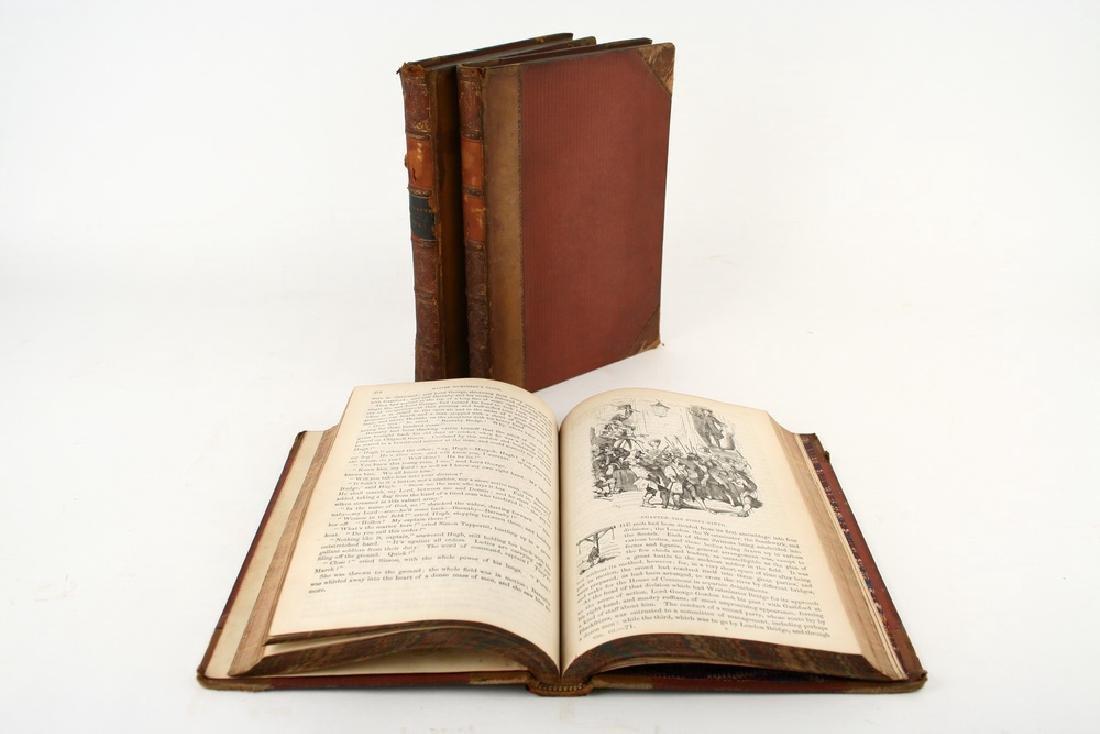 RARE FIRST EDITION 3 VOL SET BOOKS