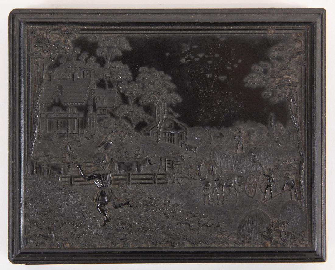 HALF PLATE UNION CASE WITH AMBROTYPES - 2