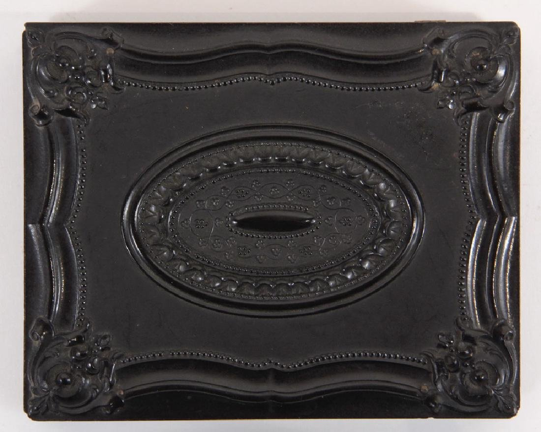 HALF PLATE UNION CASE WITH AMBROTYPES - 3