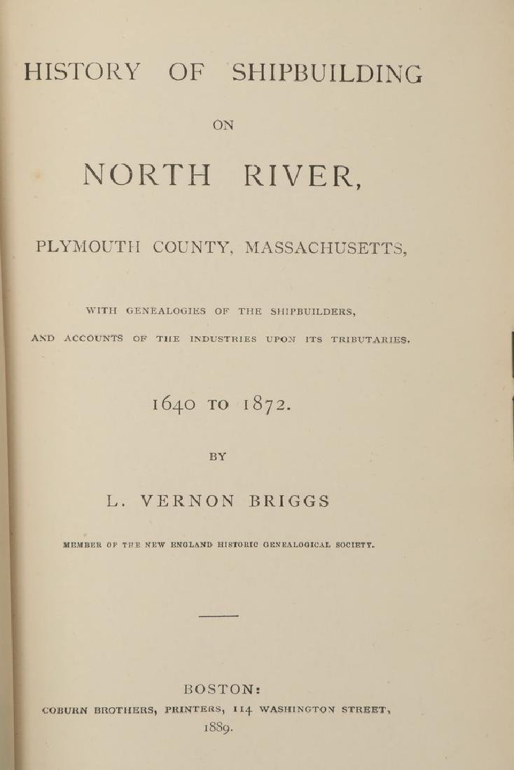 BOOK: HISTORY OF SHIPBUILDING IN PLYMOUTH