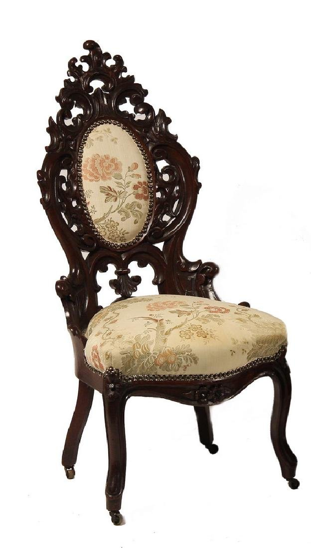 VICTORIAN LADY'S PARLOR CHAIR