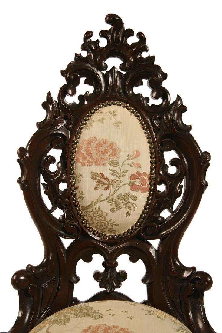 VICTORIAN LADY'S PARLOR CHAIR - 2