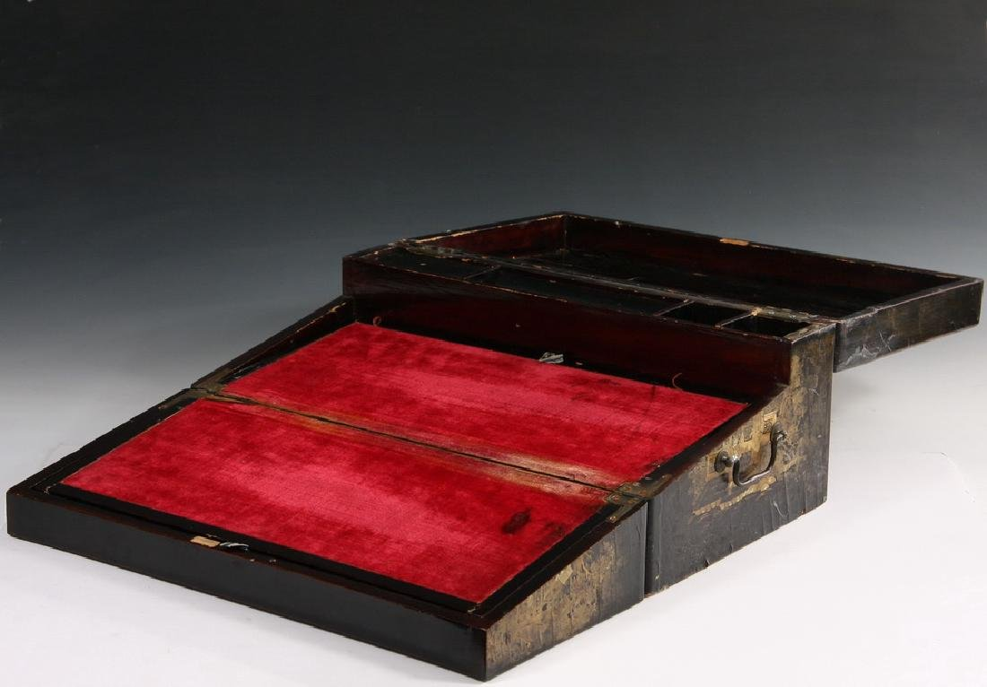 JAPANESE LACQUER WRITING BOX