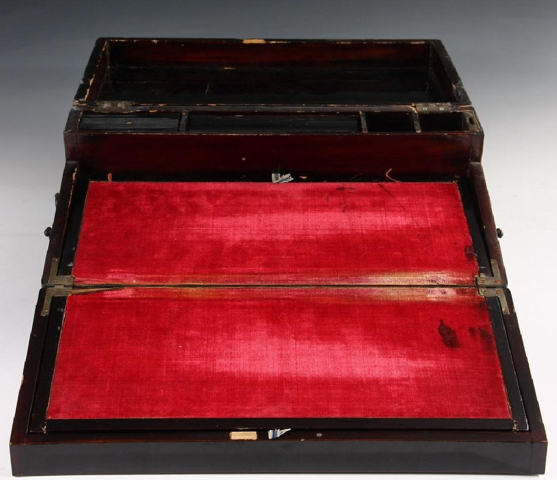 JAPANESE LACQUER WRITING BOX - 2
