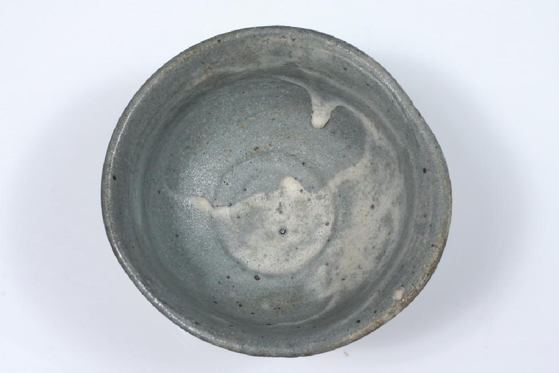 JAPANESE POTTERY TEA BOWL - 2