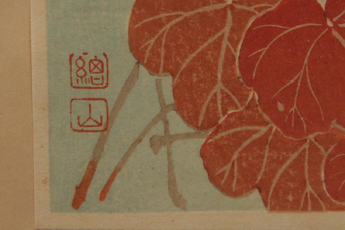 (8) JAPANESE WOODBLOCKS - 5