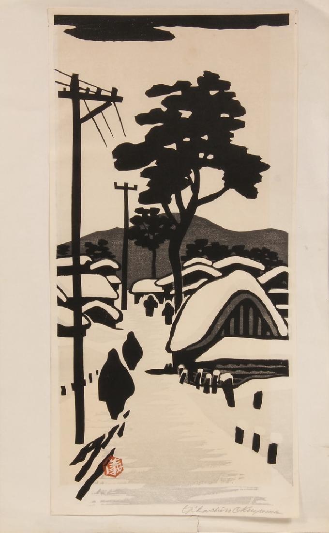 JAPANESE SHIN HANGA WOODBLOCK PRINT