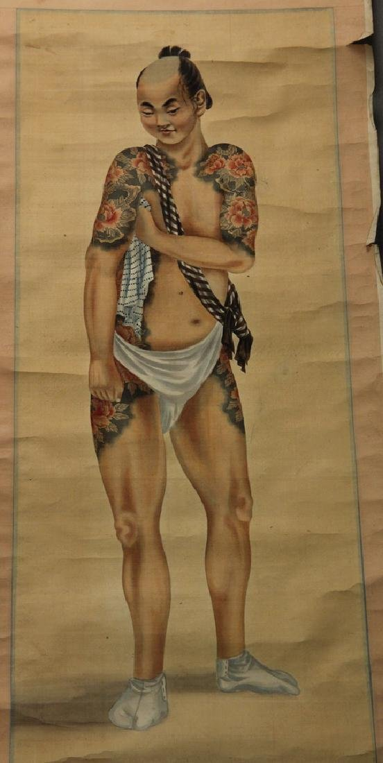 (3) JAPANESE SCROLLS - 4