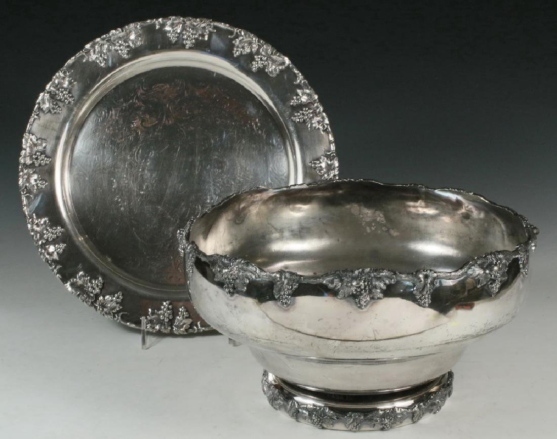 PUNCH BOWL ON TRAY