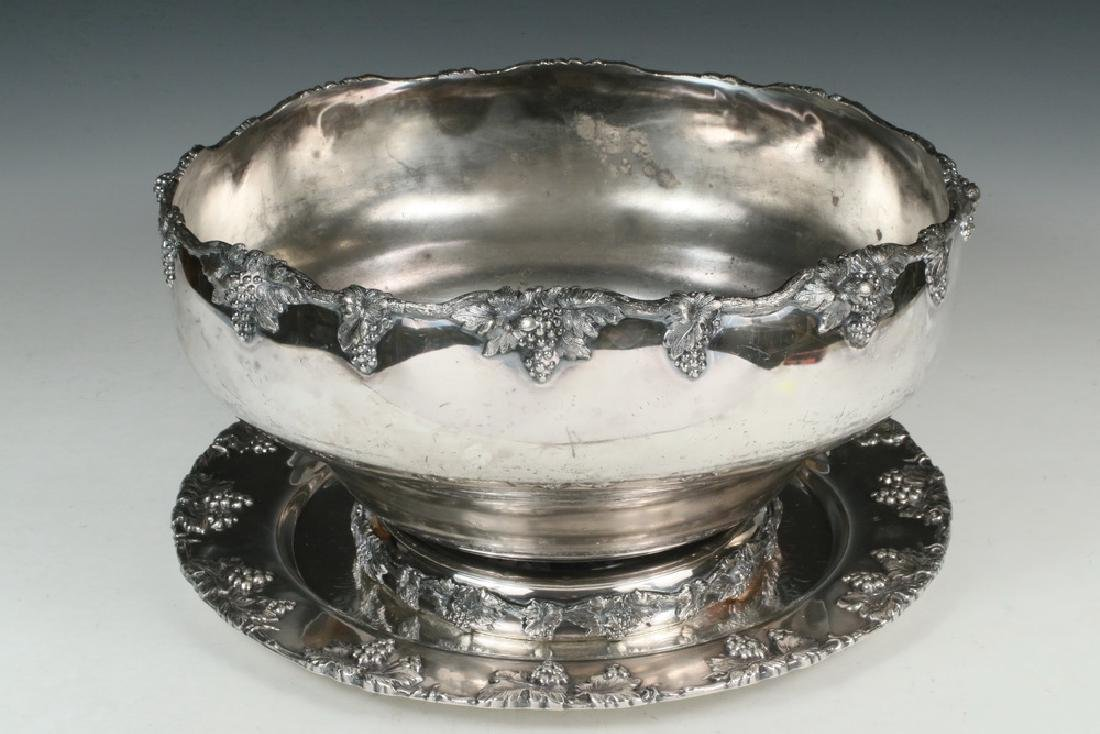 PUNCH BOWL ON TRAY - 2