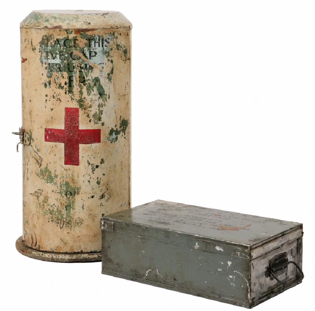 (2) CANADIAN MILITARY FIRST AID KITS