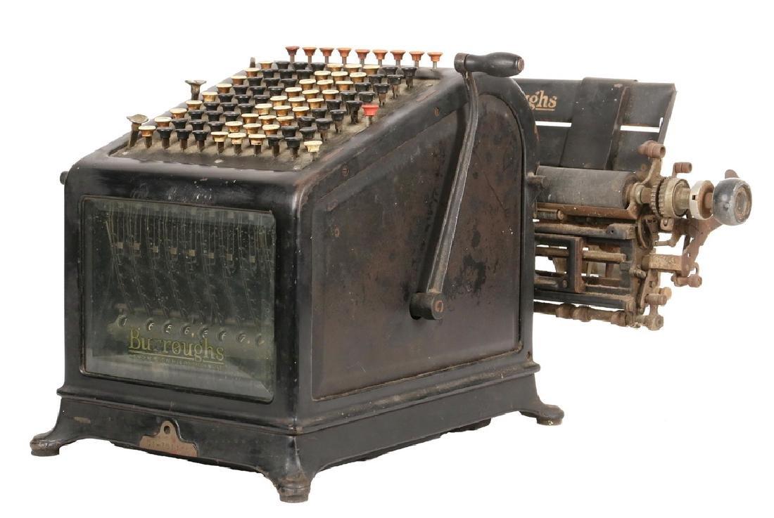 ANTIQUE ADDING MACHINE/CALCULATOR