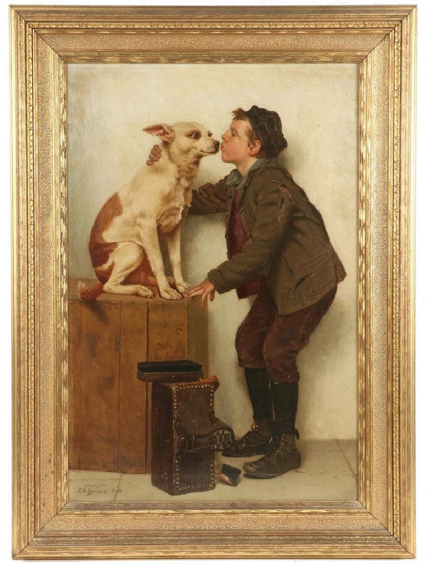 JOHN GEORGE BROWN (NY/CA, 1831-1913)