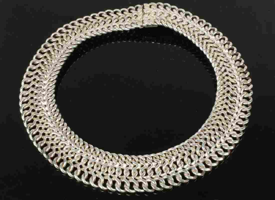 STERLING COLLAR NECKLACE