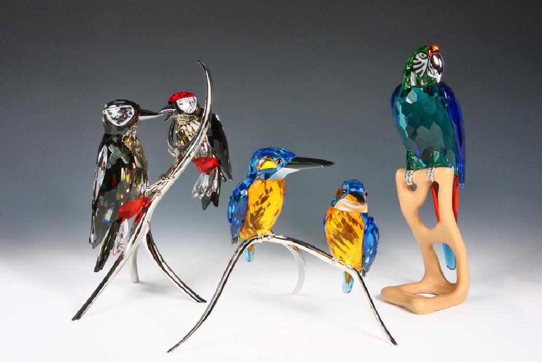 SWAROVSKI CRYSTAL BIRDS