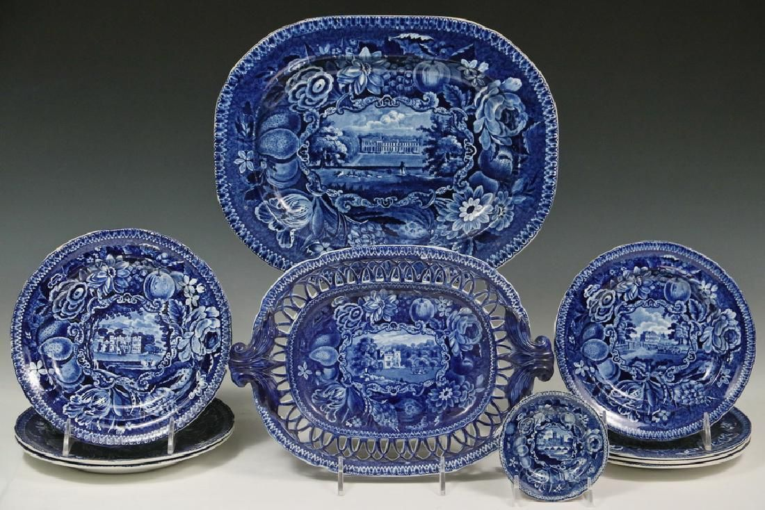 (10 PCS) R. HALLS ENGLISH TRANSFERWARE