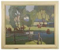 OLAF OLESEN (NY, 1873-1953)