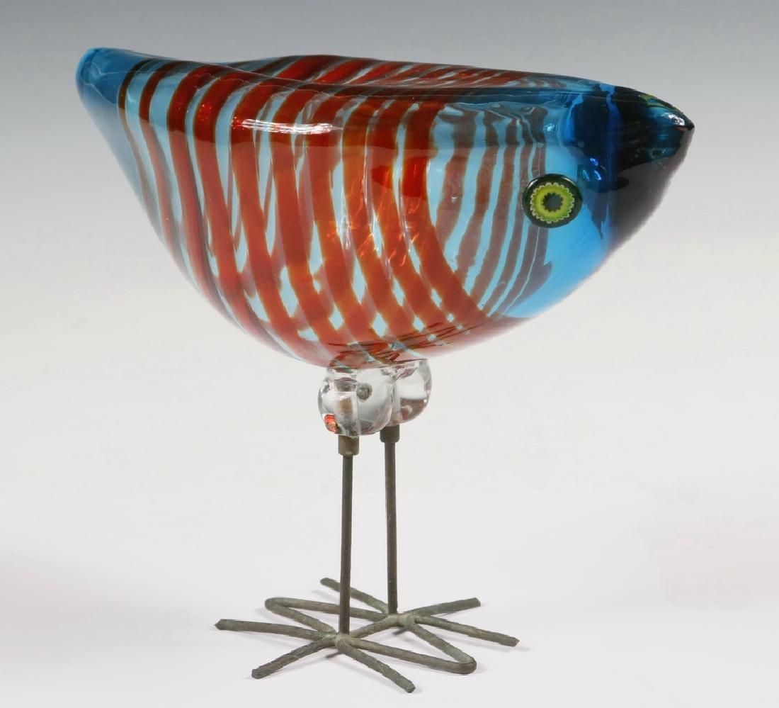 VISTOSI MURANO ART GLASS BIRD