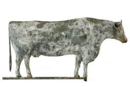 EARLY COW WEATHERVANE