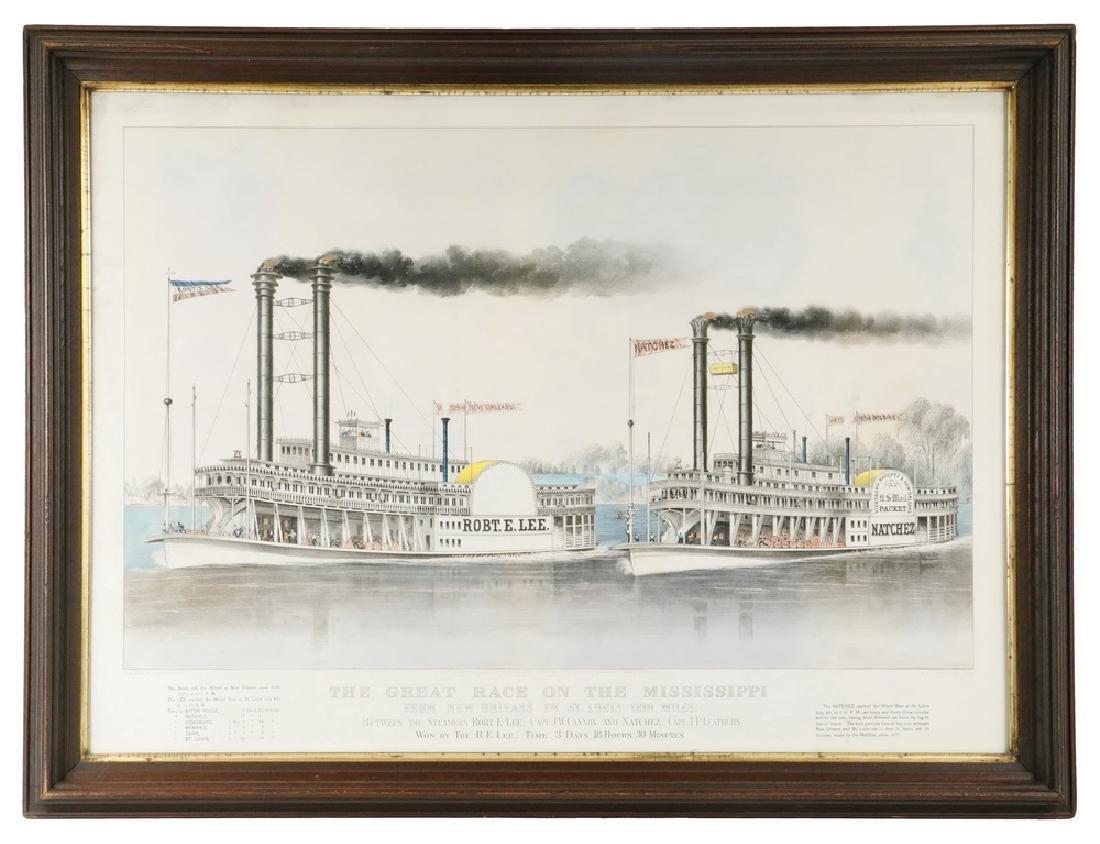 NATHANIEL CURRIER & JAMES MERRITT IVES (NY, 19TH C.)