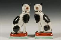 PR OF STAFFORDSHIRE CATS