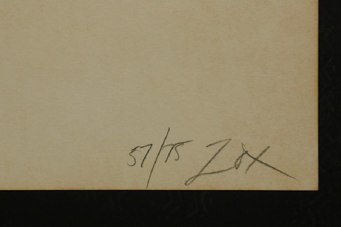 LARRY ZOX (NY/IA, 1937-2006) - 2